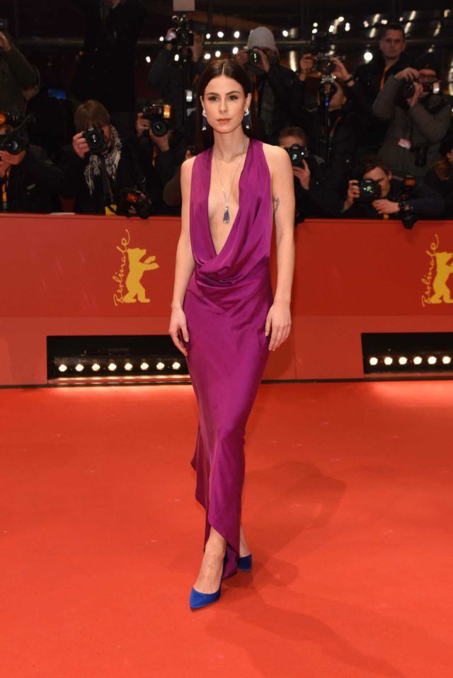 Lena Meyer-Landrut On The Red Carpet At Berlinale Film Festival