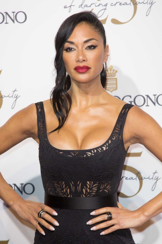 Nicole Scherzinger Stuns At De Grisogono Party