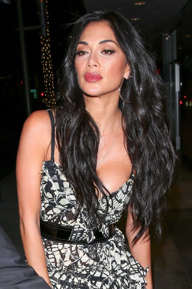 Nicole Scherzinger For A Night Out In Beverly Hills