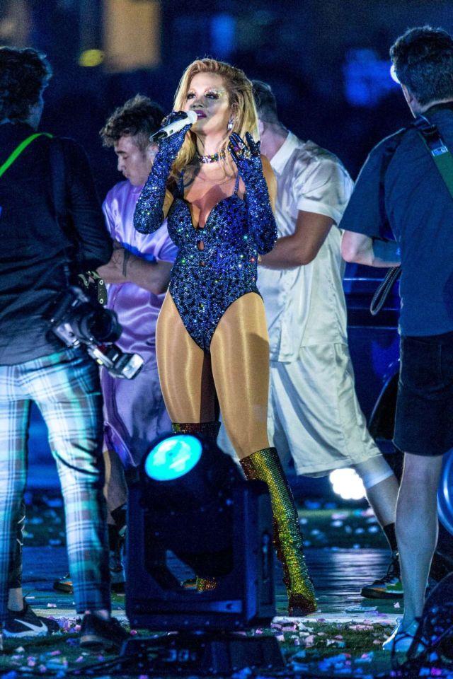 Rita Ora Performs Live At Sydney G And L Mardi Gras