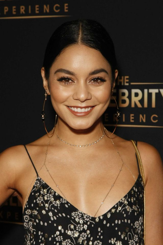 Gorgeous Vanessa Hudgens At The Celebrity Experience In LA