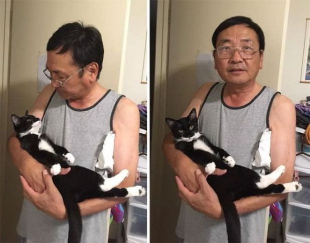 19 Men Who Didn't Want Pets, But Now They're Happy To Have Them