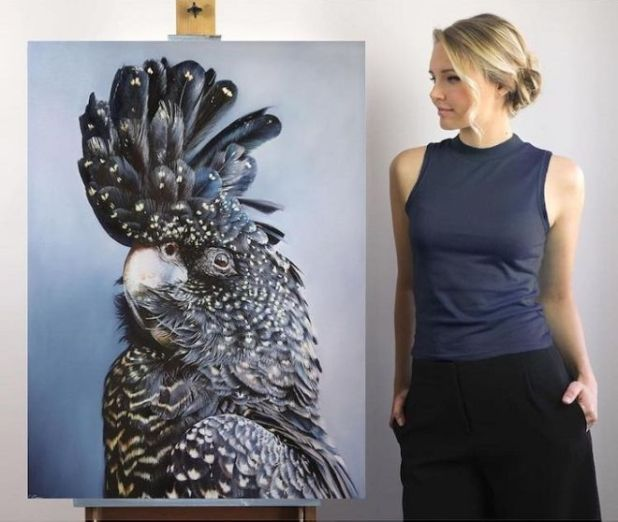 An Artist Makes Remarkable Hyper-Realistic Wildlife Paintings
