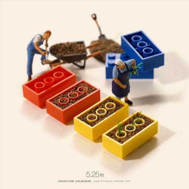 Beautiful Miniature World By Tatsuya Tanaka
