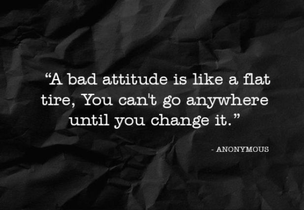 11 Quotes About How A Negative Attitude Will Only Drag You Down