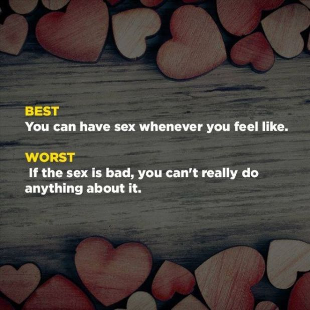 The Best & Worst Parts Of Being In A Relationship