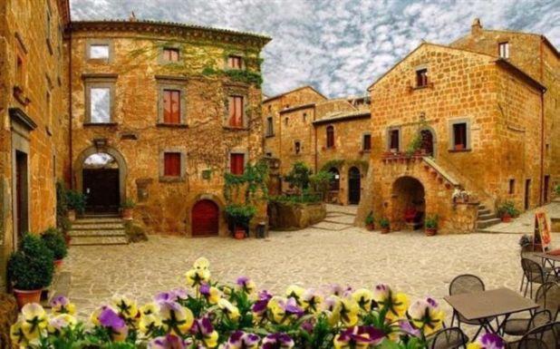 Civita Di Bagnoregio An Endangered Town Funotic Com