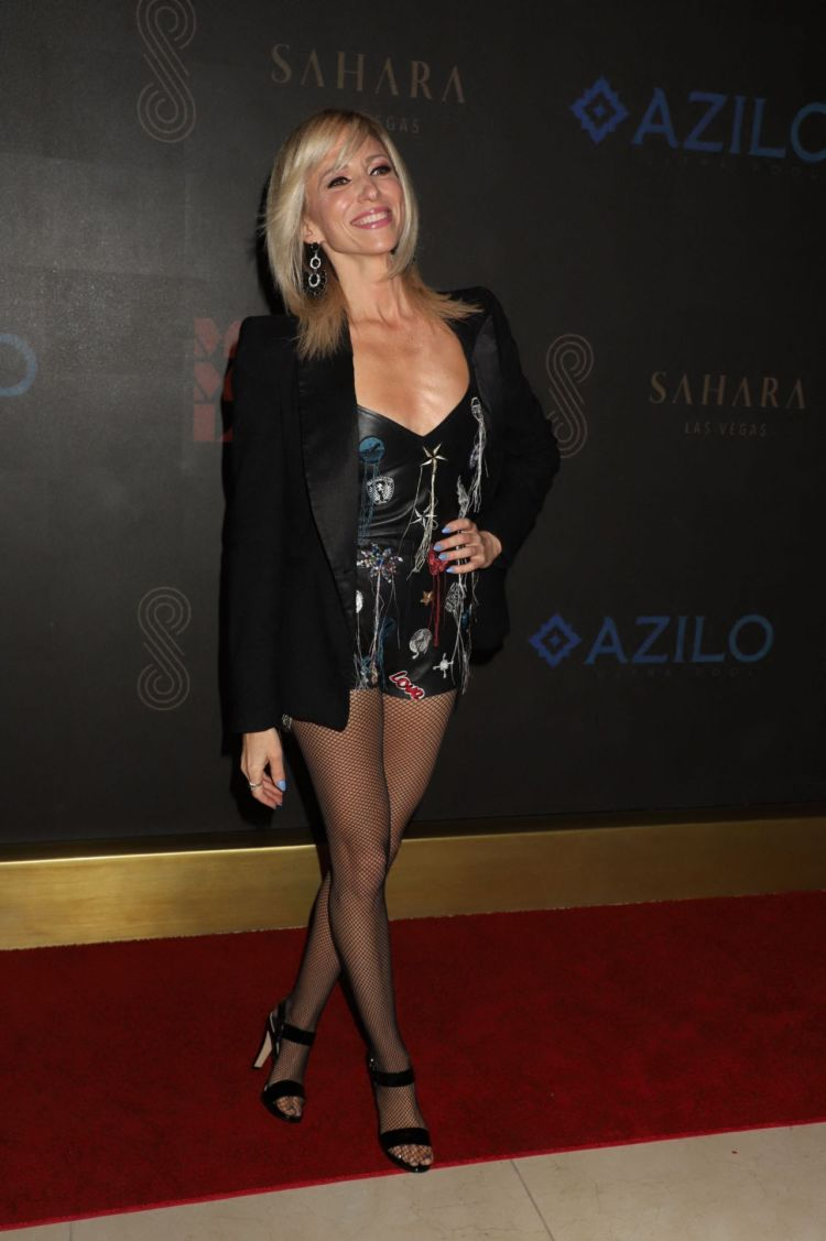 Debbie Gibson At The MAGIC MIKE LIVE Grand Opening In Las Vegas