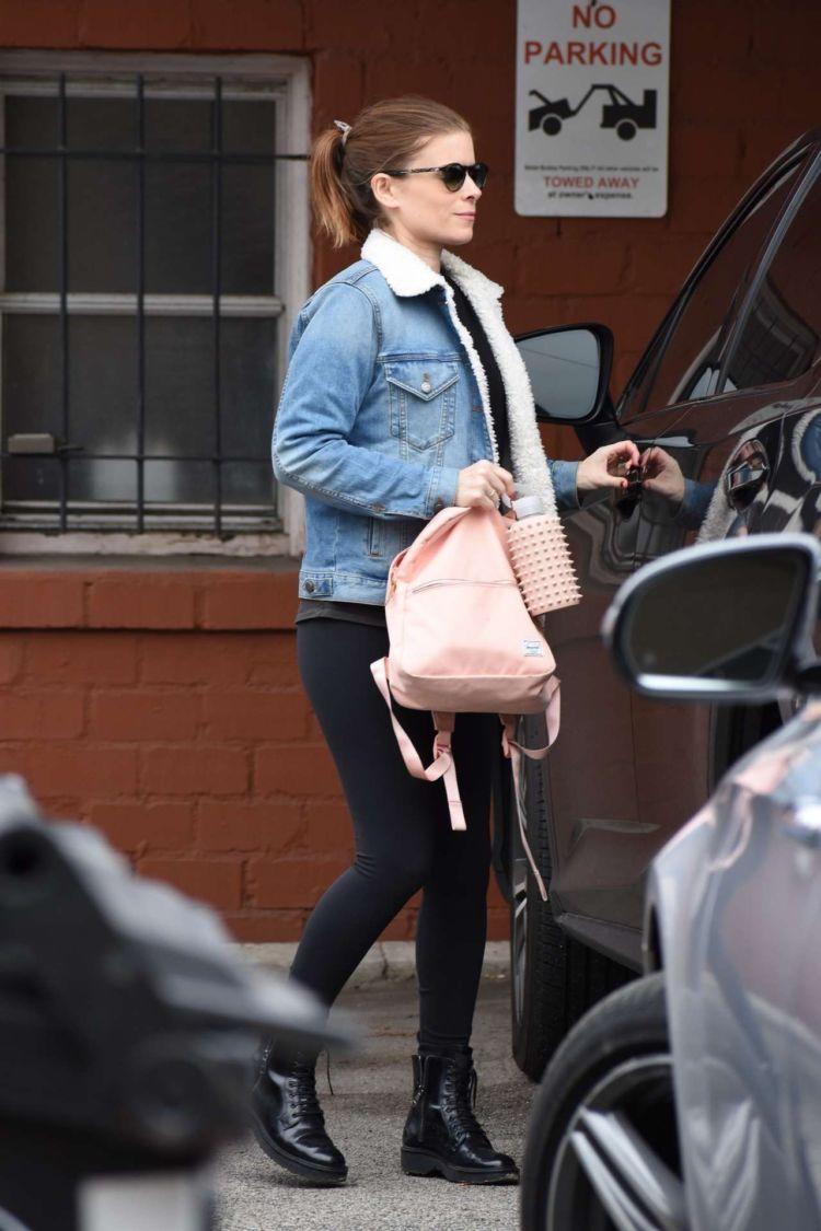 Kate Mara Candids While Leaving A Dance Class