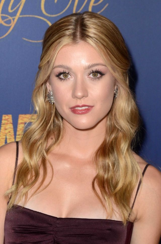 Katherine McNamara In Black At The Showtime Emmy Eve Nominees Party
