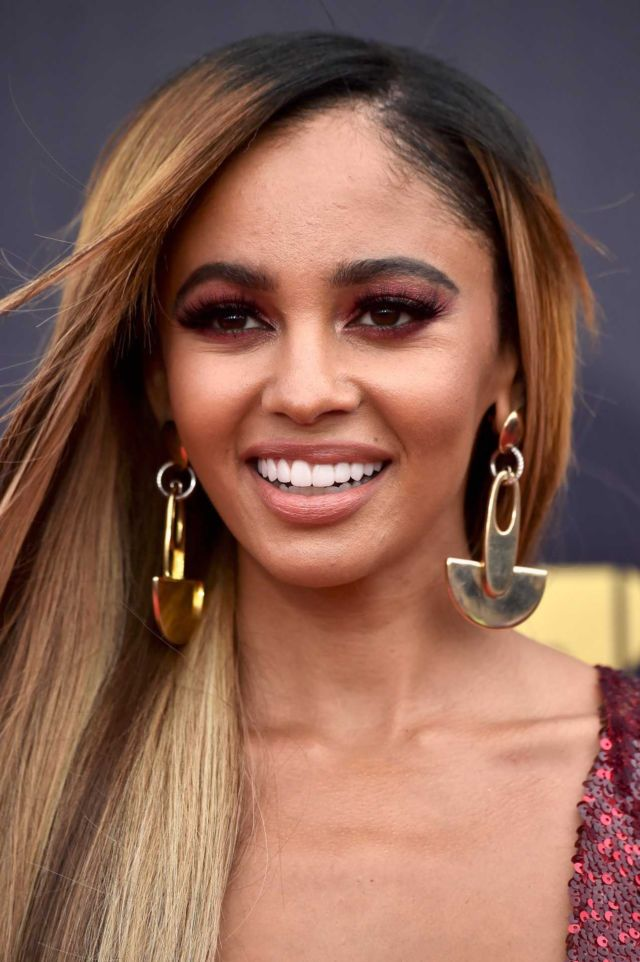 Vanessa Morgan Poses At The 2018 MTV Movie And TV Awards