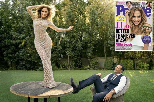 Jennifer Lopez Got Featured In People US Magazine December 2018