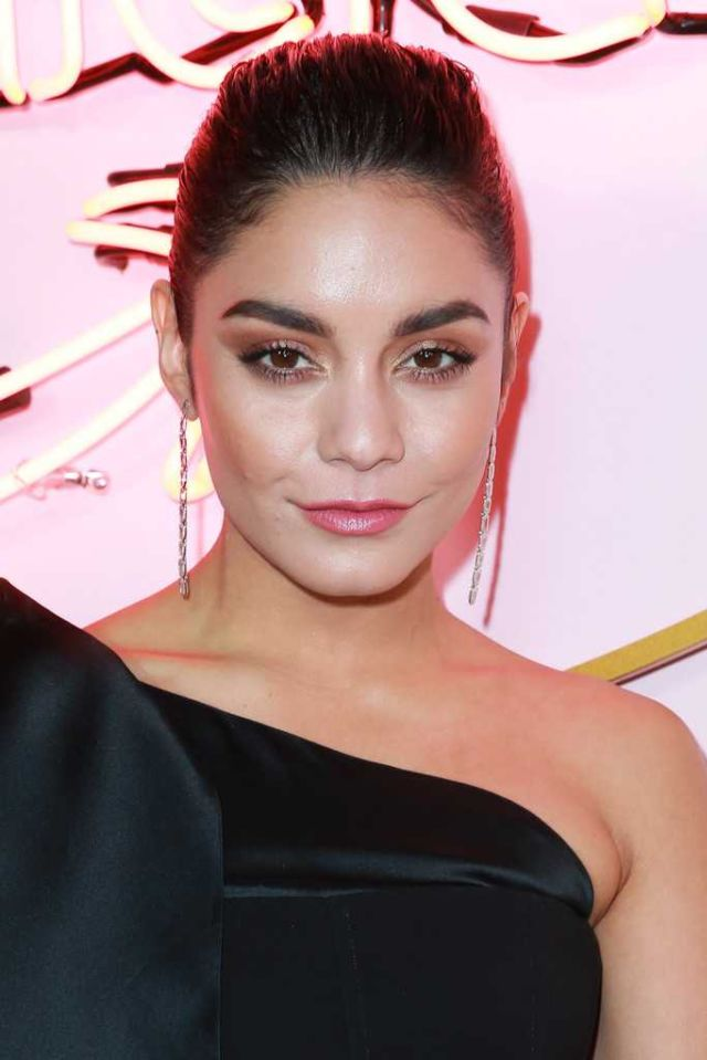 Beautiful Vanessa Hudgens In Blaak At Amazon Prime Video Post Emmy Awards Party