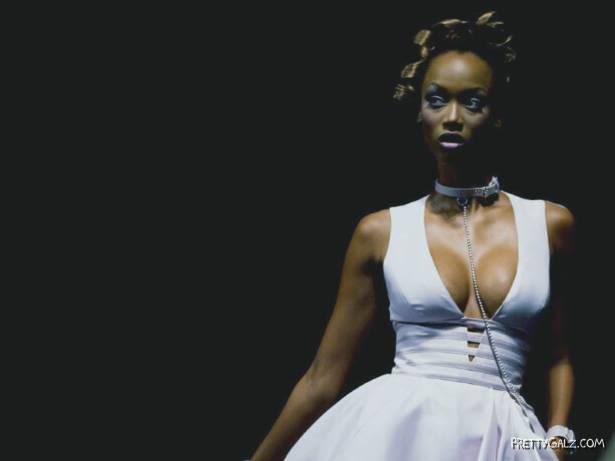 Sexy Supermodel Tyra Banks