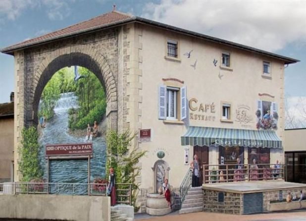Marvelous Street Art By A French Artist