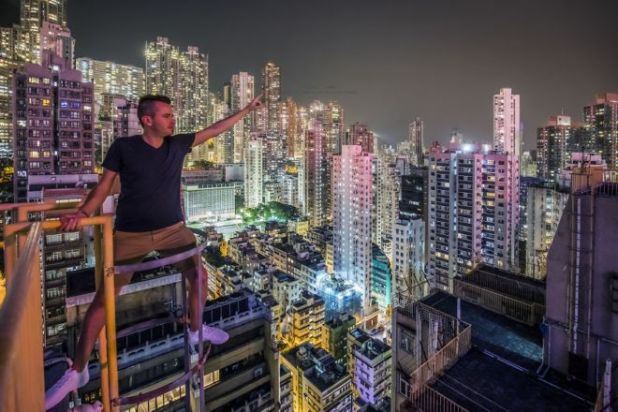 Daring Photographer Captures Hong Kong's Cityscapes From High Above