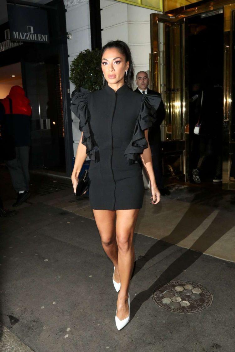 Nicole Scherzinger Spotted Outside Isabel In London