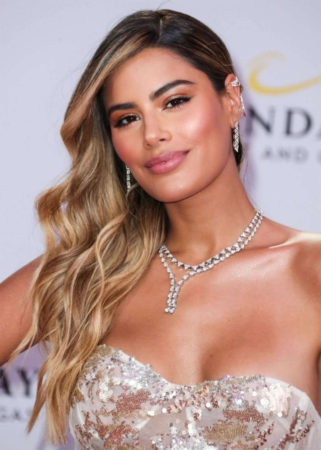 Ariadna Gutierrez Shines At The Billboard Latin Music Awards 2019 Press Room