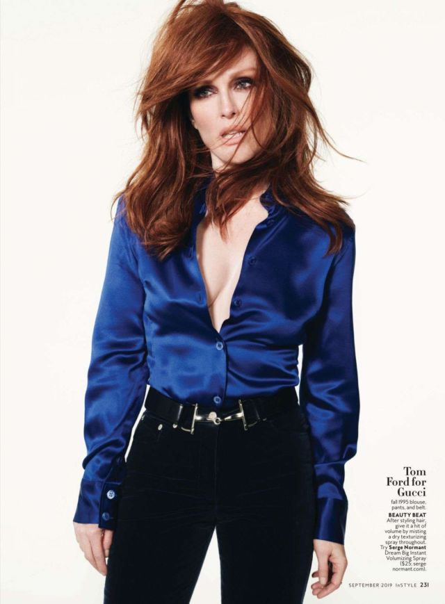 Gorgeous Julianne Moore Featured In InStyle Magazine (September 2019)