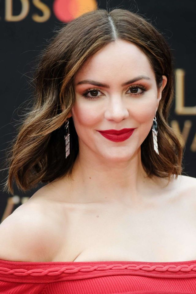 Katharine McPhee Shines At The Olivier Awards 2019 In London