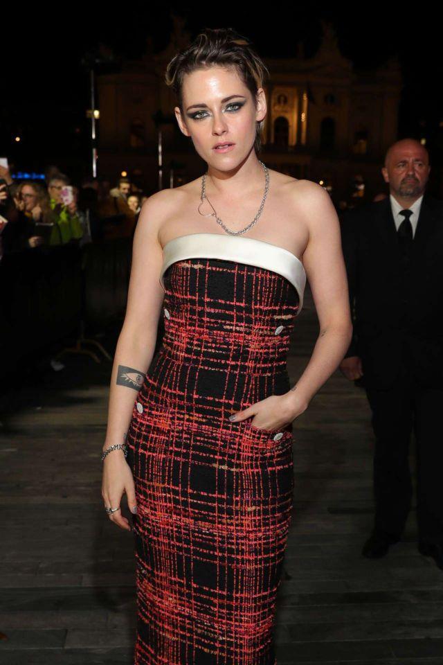 Kristen Stewart Attends The Premiere At 15th Zurich Film Festival