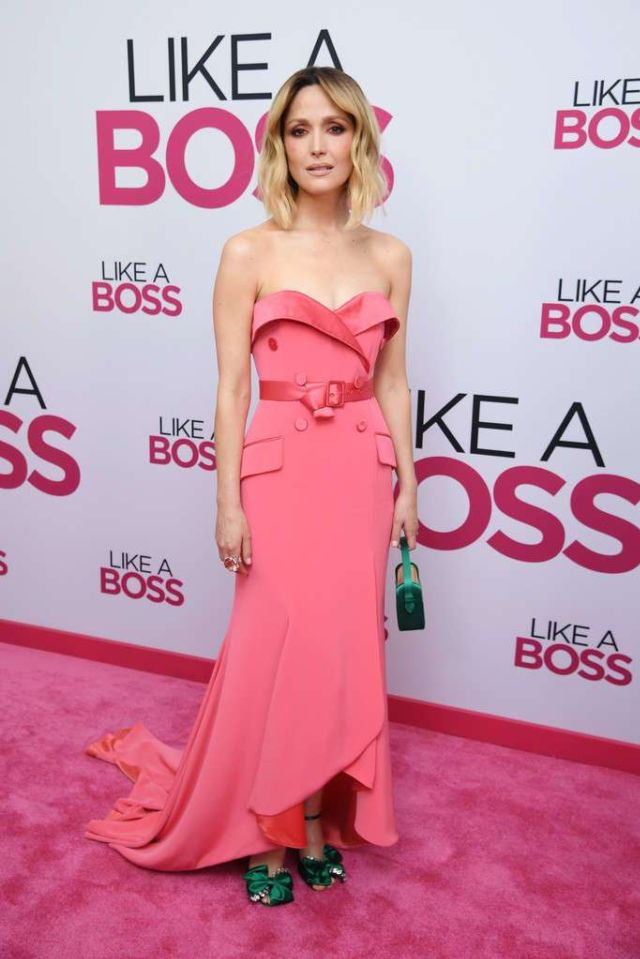 Gorgeous Rose Byrne At The World Premiere Of 'Like A Boss'