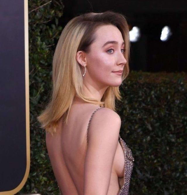 Saoirse Ronan Shines At The Golden Globe Awards 2020