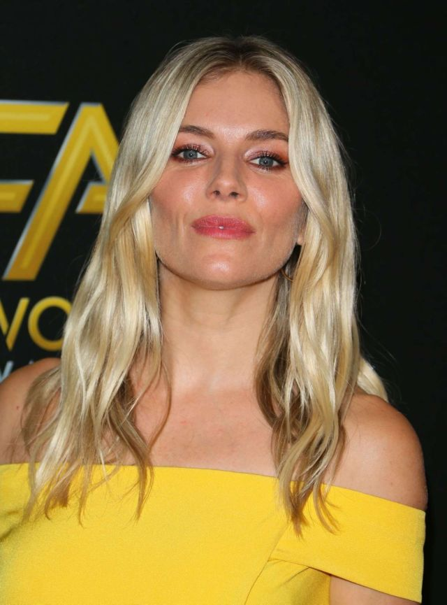 Gorgeous Sienna Miller At The 23rd Annual Hollywood Film Awards