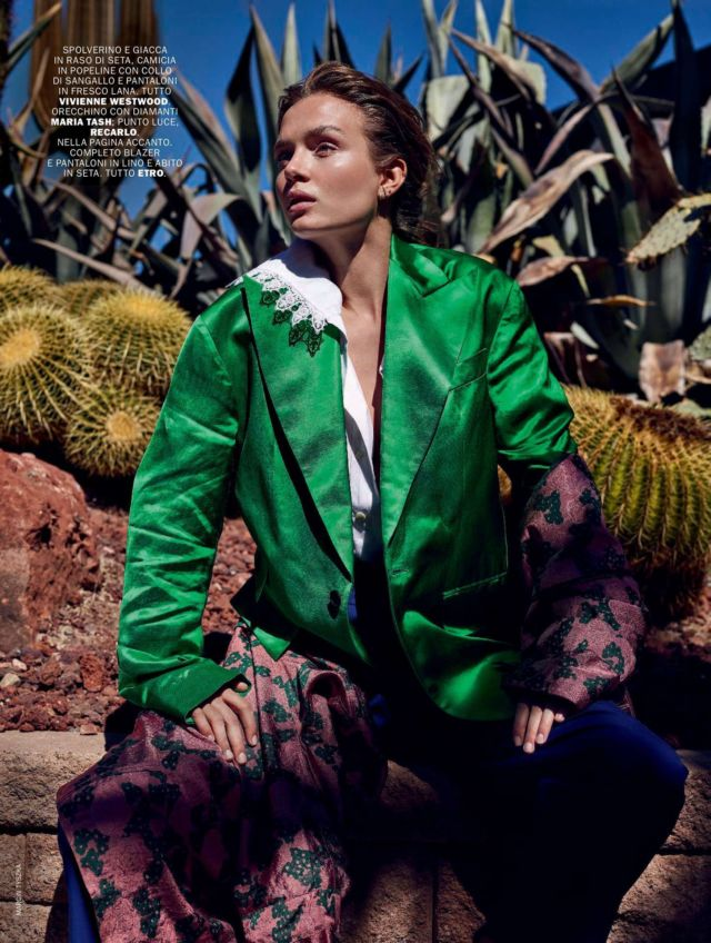 Josephine Skriver Glams Up Marie Claire Italy's May 2019 Issue