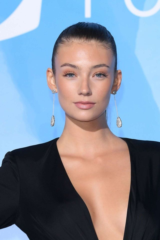 Lorena Rae In Black At The Gala For The Global Ocean Event 2019