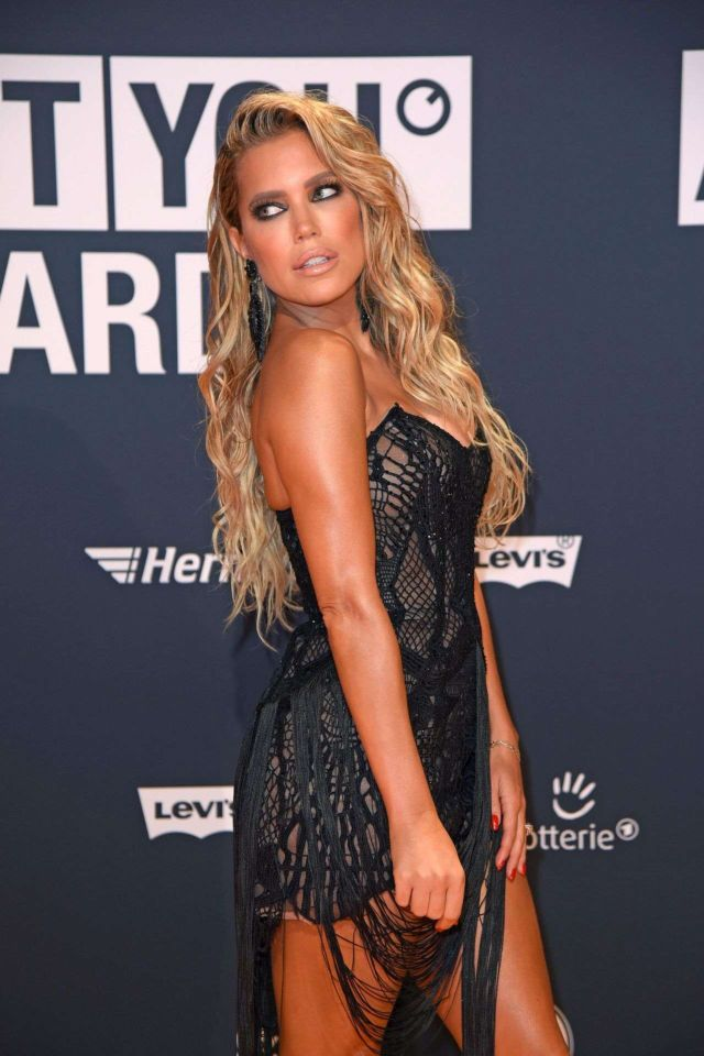 Sylvie Meis Shines At ABOUT YOU Awards In Munich