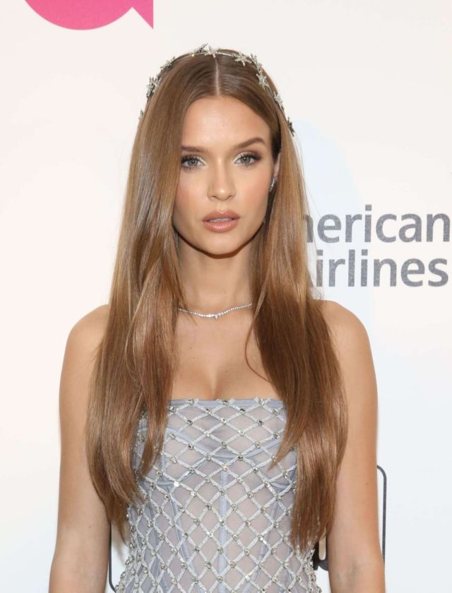Josephine Skriver At The Elton John AIDS Foundation Academy Awards Viewing Party