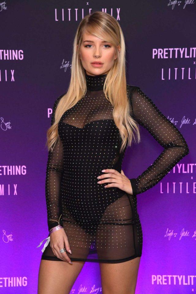 Lottie Moss Attends PrettyLittleThing x Little Mix Launch Party