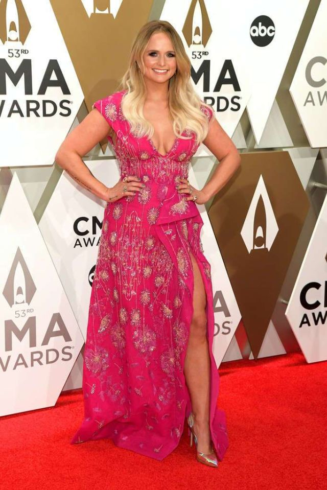 Miranda Lambert Performs At The 53rd Annual CMA Awards In Nashville