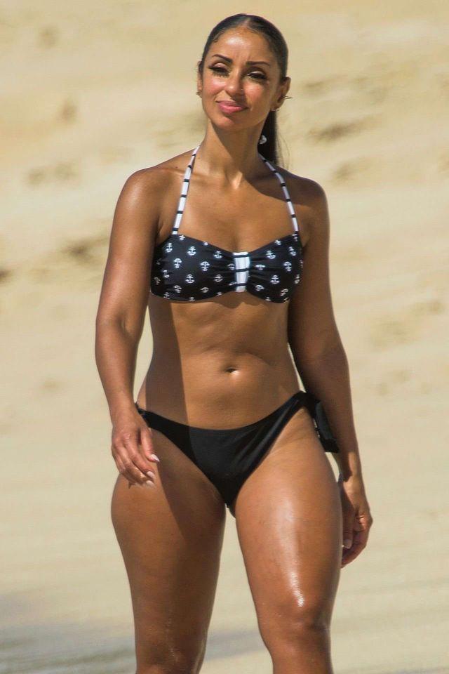 Mya On A Bikini Vacation At A Beach In Barbados
