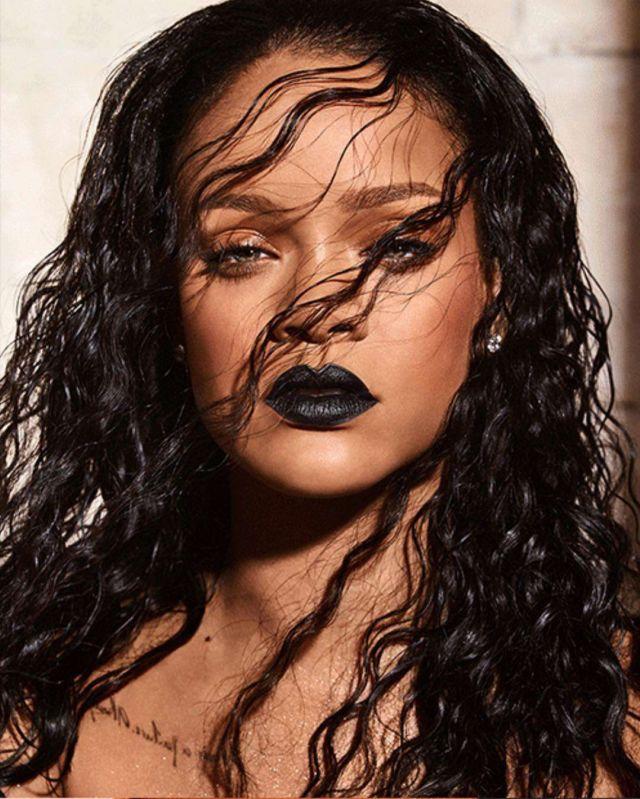 Rihanna In Fenty Beauty Mattemoiselle Photoshoot