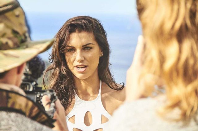 Alex Morgan's Behind The Scenes Look For Sports Illustrated Swimsuit Shoot 2019
