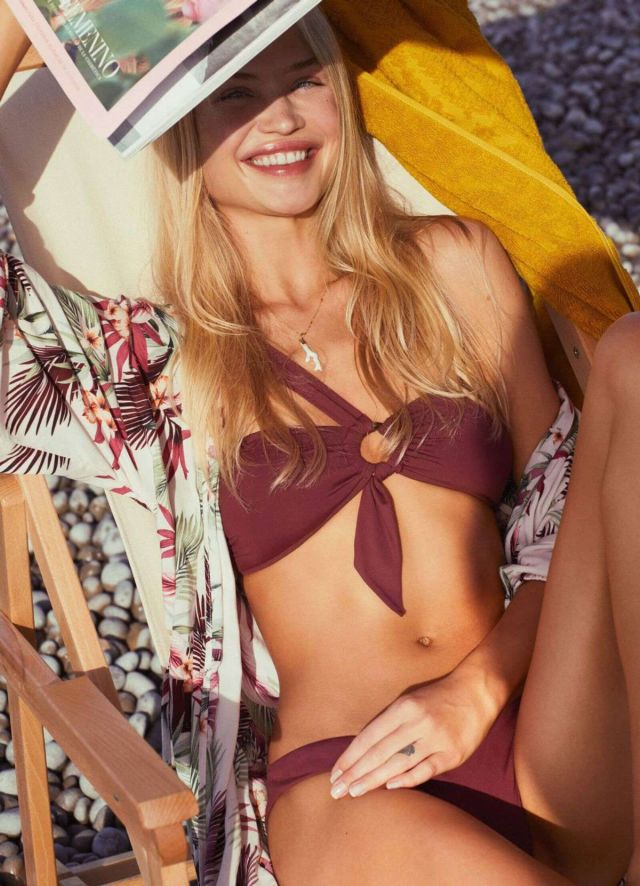 Camilla Forchhammer Christensen Shoots For Seafolly Swimwear 2019