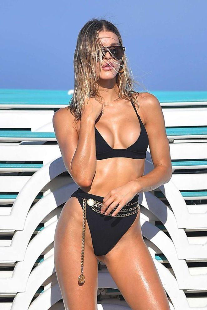 Joy Corrigan's Amazing Bikini Photoshoot On The Beach In Miami
