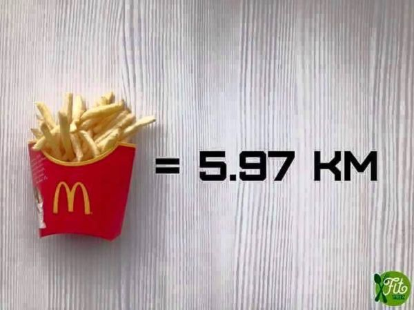 How Much You Have To Run To Burn Calories From These 9 Fast Foods