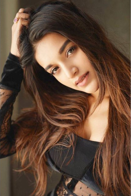 Nidhhi Agerwal Recent Photoshoot In Black