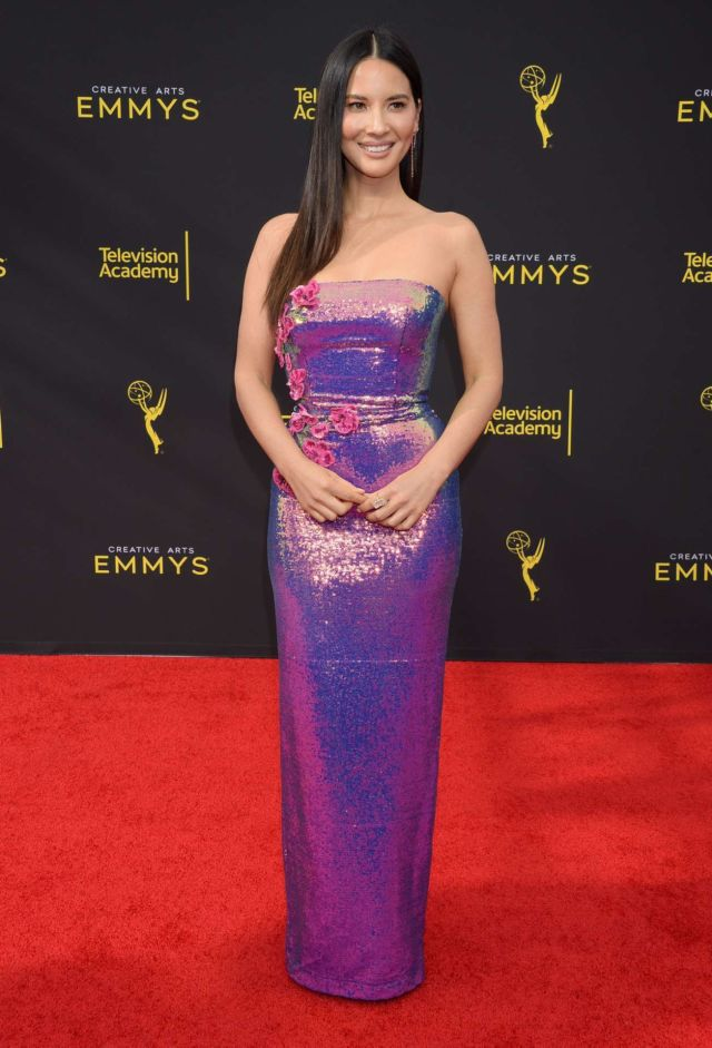 Olivia Munn Shines At 71st Annual Creative Arts Emmy Awards