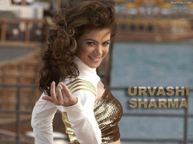 Click to Enlarge - Bollywood Beauty Urvashi Sharma Wallpapers