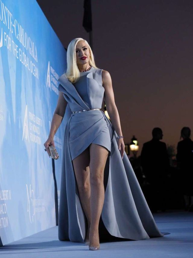 Gwen Stefani Shines At Gala For The Global Ocean 2019
