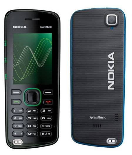 Nokia 5220 XpressMusic with 24 Hours Playback Time