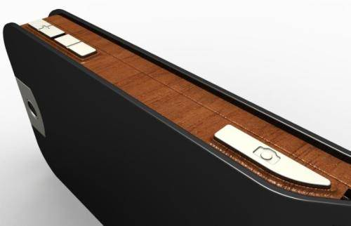 Cool S-Series Wooden Cellphone