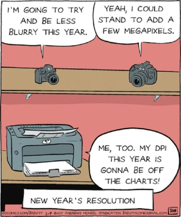 19 Comics That Show The Hilarious Realities Of New Year Resolutions