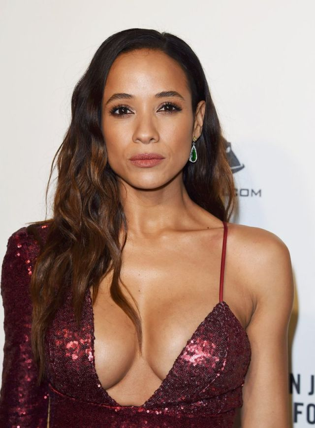 Dania Ramirez Attends The Elton John AIDS Foundation Academy Awards