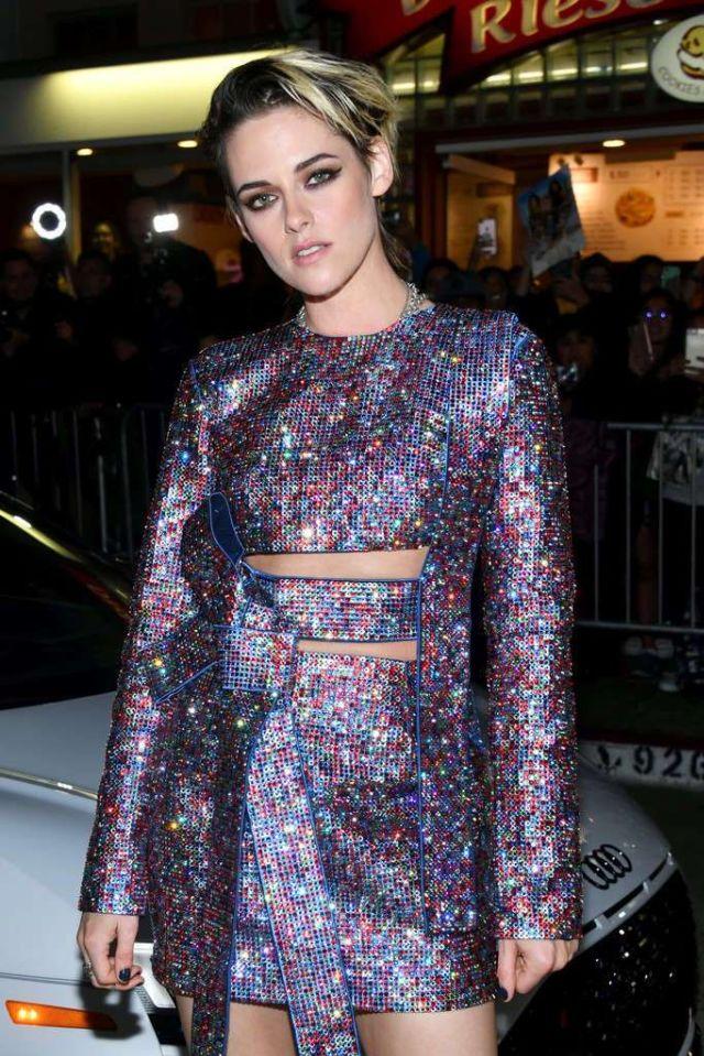 Kristen Stewart Attends The Premiere Of 'Charlies Angels'