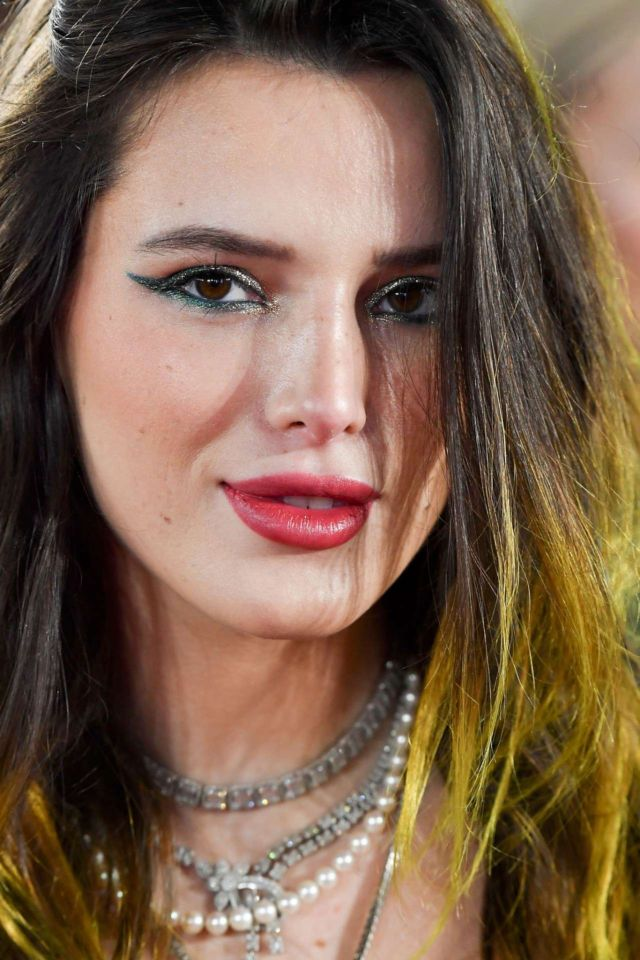 Beautiful Bella Thorne Attends Fashion Awards 2019